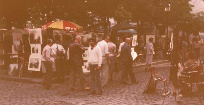 Pinturas París en Place du Tertre