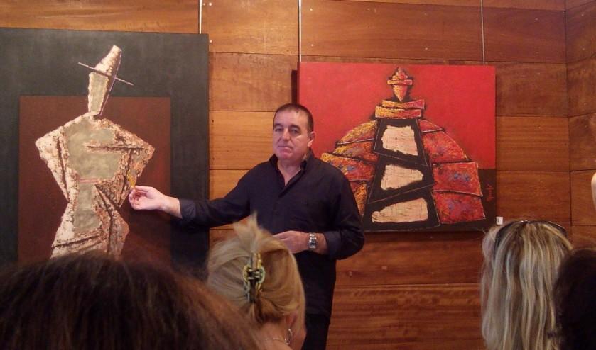 Exposición pintura acrílica Canet de Mar