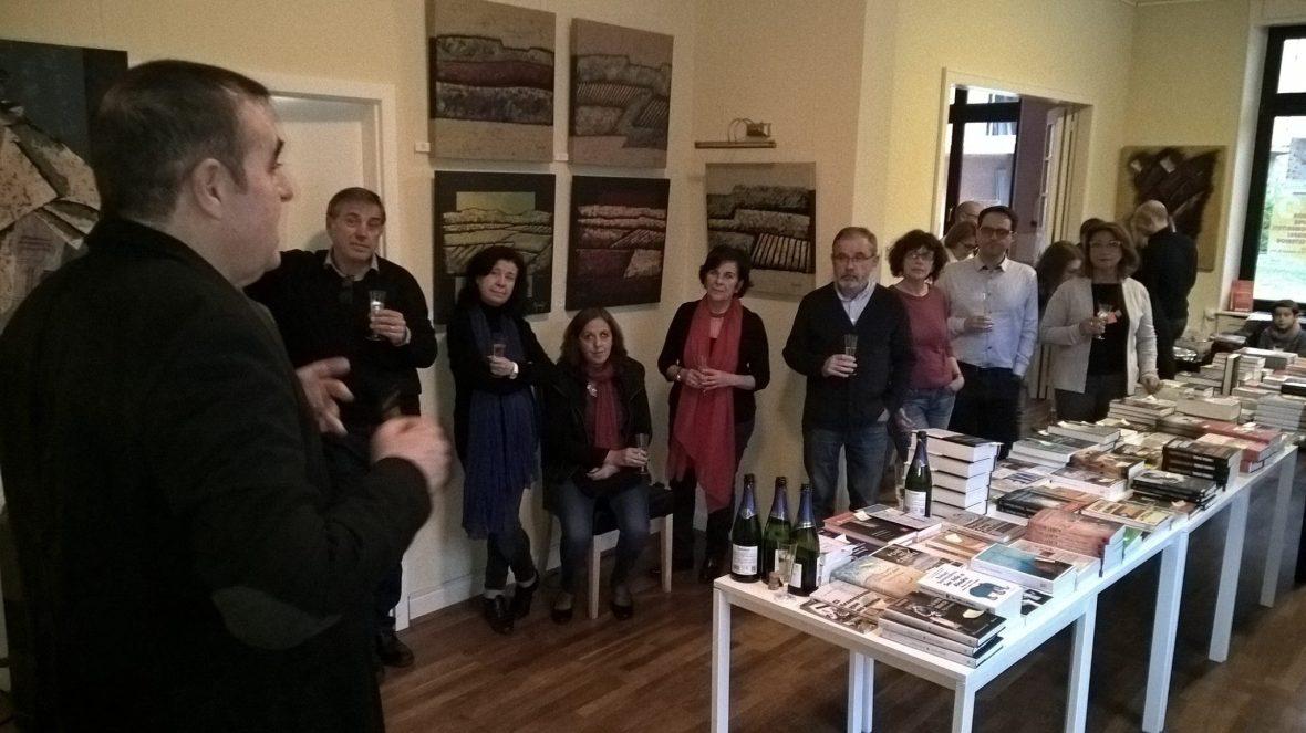Presentación de la exposición de pintura en Luxemburgo