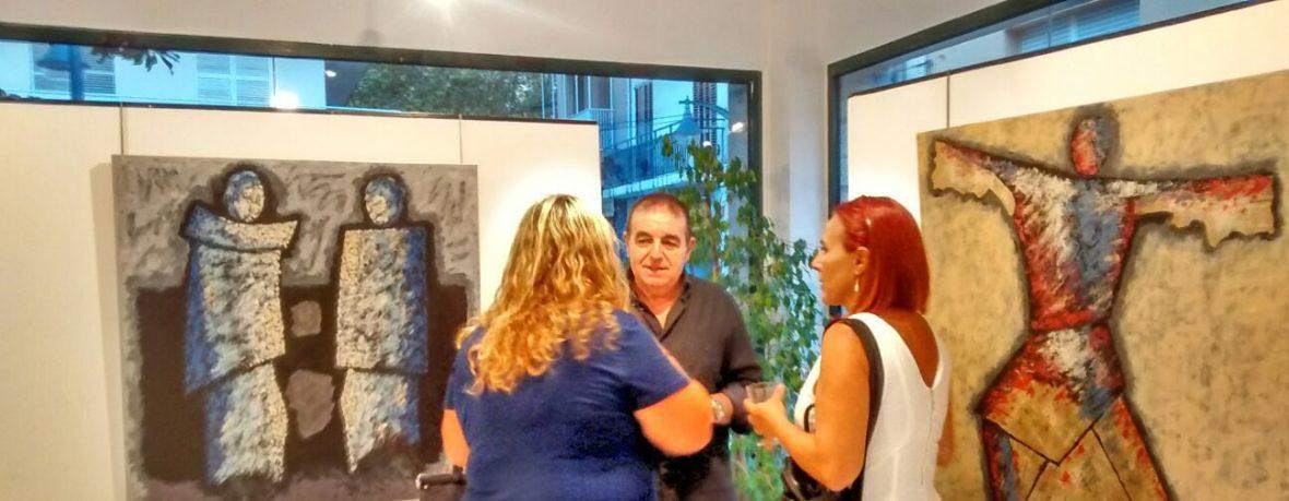 Conversando con pintores Lourdes y Rosario