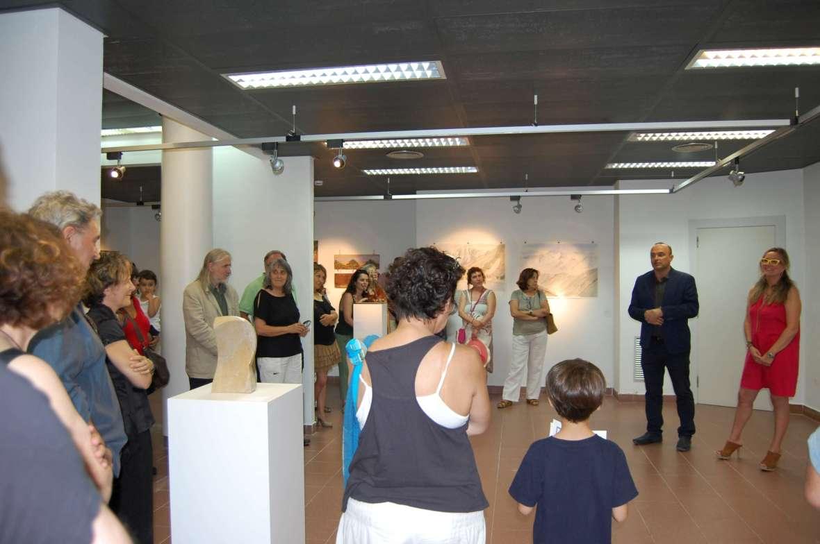 Exposición pinturas en Masnou